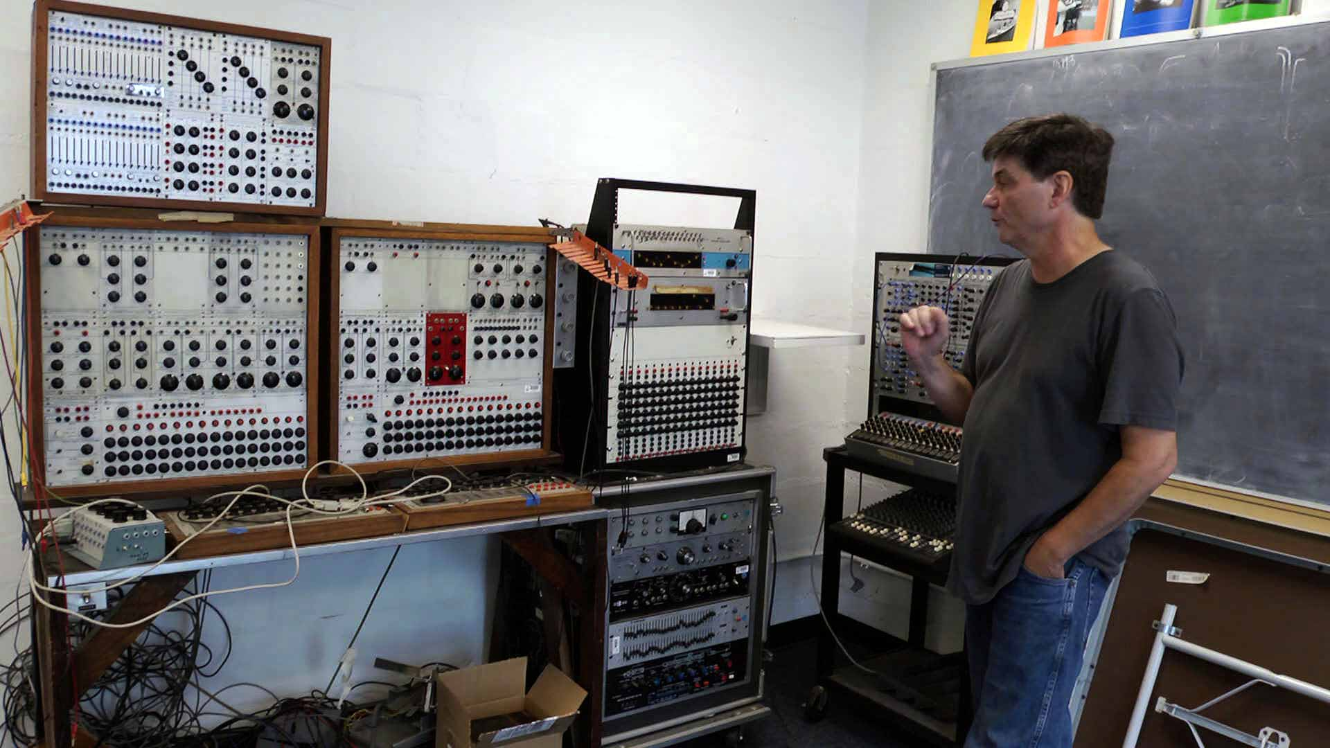 Serge Bode with Buchla